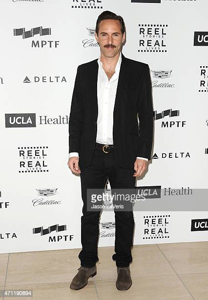Actor Alessandro Nivola attends the 4th annual Reel Stories Real Lives event benefiting Motion Picture Television Fund at Milk Studios on April 25...