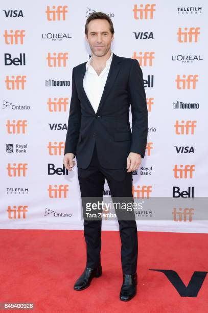 Actor Alessandro Nivola attends the 'Disobedience' premiere during the 2017 Toronto International Film Festival at Princess of Wales Theatre on...