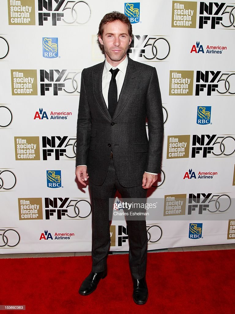 Actor Alessandro Nivola attends the 'Ginger And Rosa' premiere during the 50th New York Film Festival at Alice Tully Hall at Lincoln Center on October 8, 2012 in New York City.