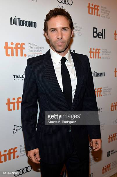Actor Alessandro Nivola attends the 'Ginger Rosa' premiere during the 2012 Toronto International Film Festival at the The Elgin on September 7 2012...