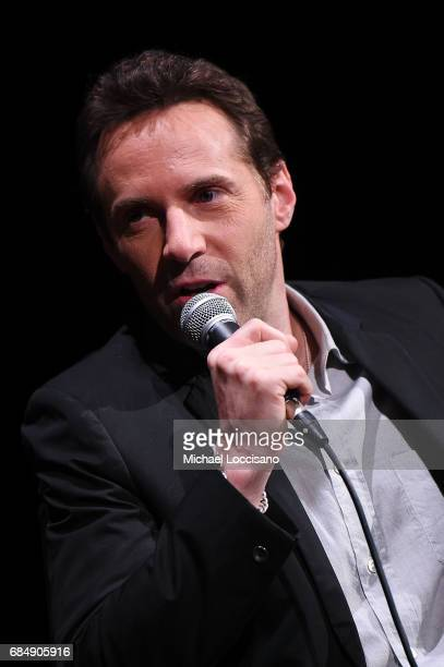 Actor Alessandro Nivola takes part in the SAGAFTRA Foundation Presentation of Conversations with Alessandro Nivola of 'The Wizard Of Lies' at...