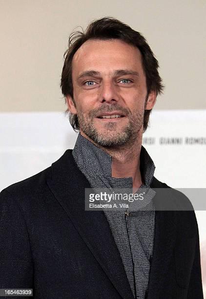 Actor Alessandro Preziosi attends Il Volto di un'Altra at Cinema Barberini on April 4 2013 in Rome Italy
