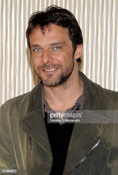 Actor Alessandro Preziosi attends 'Mine Vaganti' Photocall held at Terrazza Martini on March 2 2010 in Milan Italy