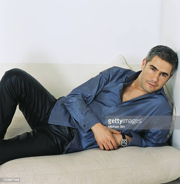 Actor Alessandro Safina poses for a portrait shoot in London
