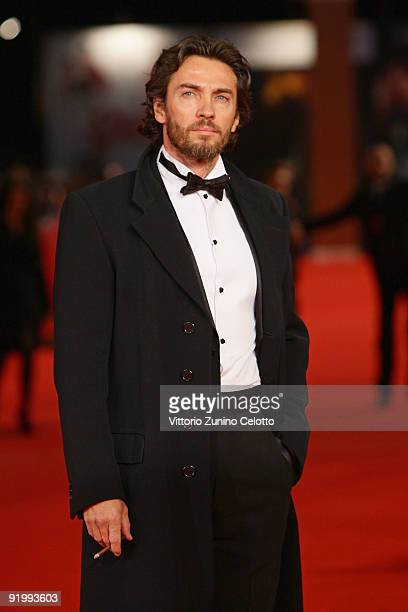 Actor Alessio Boni attends the 'Christine Cristina' Premiere during day 5 of the 4th Rome International Film Festival held at the Auditorium Parco...