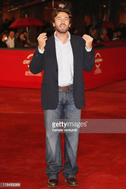 Actor Alessio Boni attends the 'Galantuomini' Premiere during the 3rd Rome International Film Festival held at the Auditorium Parco della Musica on...