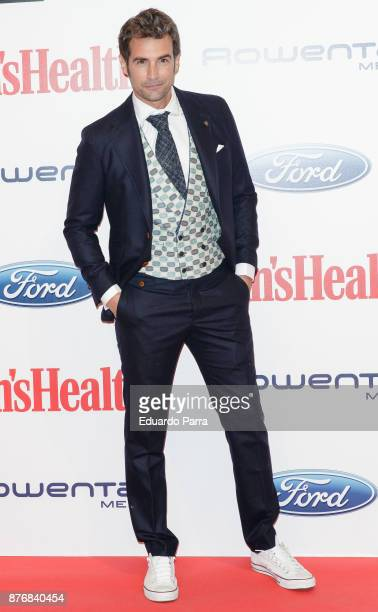 Actor Alex Adrover attends Men's Health 2017 Awards photocall at Goya theater on November 20 2017 in Madrid Spain