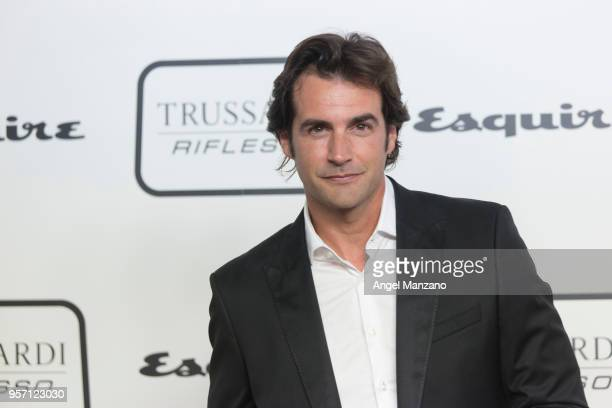 Actor Alex Adrover attends new fragrance Riflesso de Trussardi launching party at Palacio de Santa Coloma on May 10 2018 in Madrid Spain