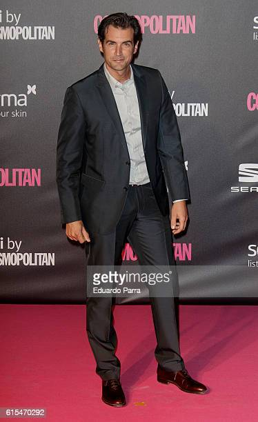 Actor Alex Adrover attends the 'Cosmopolitan Fun Fearless Female' awards 2016 at La Riviera Disco on October 18 2016 in Madrid Spain