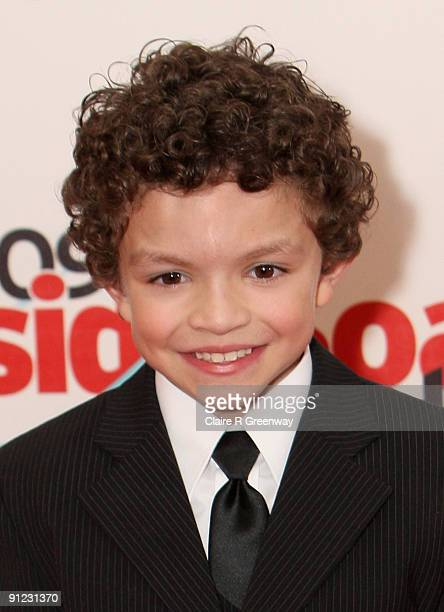 Actor Alex Bain poses in the media room at the Inside Soap Awards 2009 at Sketch on September 28 2009 in London England