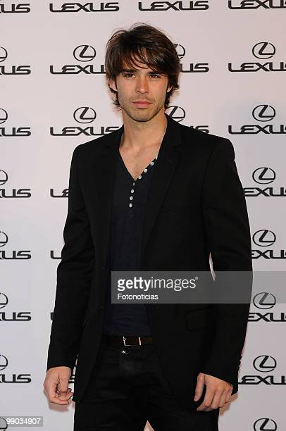 Actor Alex Barahona attends a 'Lexus' party hosted by Bar Refaeli at the Villamagna Hotel on May 11 2010 in Madrid Spain