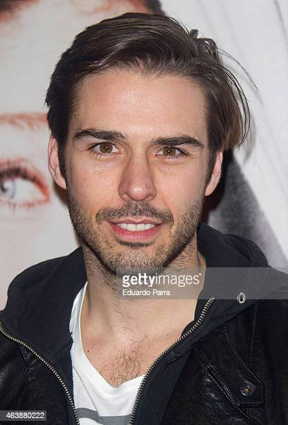 Actor Alex Barahona attends 'Buena Gente' premiere at Rialto theatre on February 19 2015 in Madrid Spain