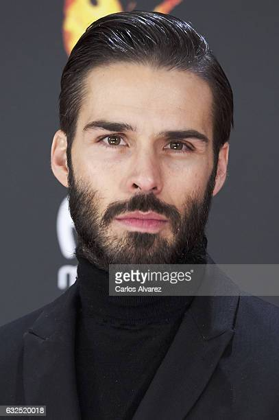 Actor Alex Barahona attends the Feroz cinema awards 2016 at the Duques de Pastrana Palace on January 23 2017 in Madrid Spain