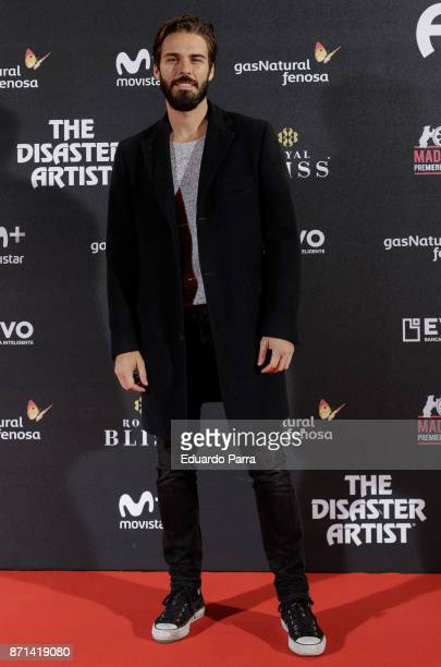 Actor Alex Barahona attends the 'The disaster artist' premiere at Callao cinema on November 7 2017 in Madrid Spain