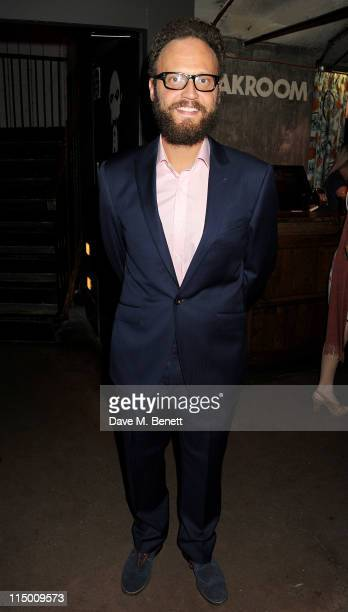 Actor Alex Beckett attends an after party celebrating press night of the new west end production of Much Ado About Nothing at The Foundation Bar on...