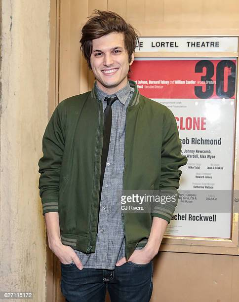 Actor Alex Boniello attends 'Ride the Cyclone' opening night at The Lucille Lortel Theatre on December 1 2016 in New York City