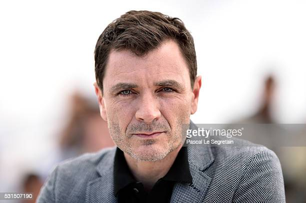 Actor Alex Brendemuehl attends the From The Land Of The Moon photocall during the 69th annual Cannes Film Festival at the Palais des Festivals on May...