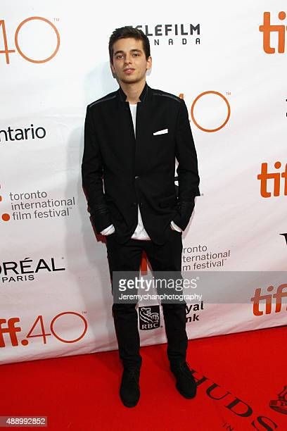 Actor Alex C Nachi attends the Stonewall premiere during the 2015 Toronto International Film Festival held at Roy Thomson Hall on September 18 2015...