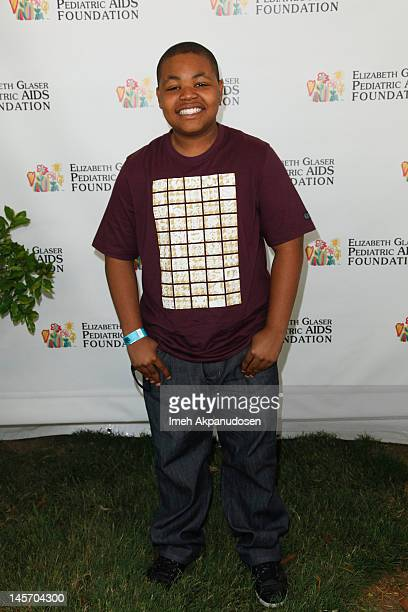 Actor Alex Christian Jones attends the 23rd Annual Time for Heroes Celebrity Picnic to benefit the Elizabeth Glaser Pediatric AIDS Foundation at...