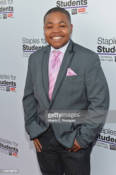 Actor Alex Christian Jones attends the Staples DoSomethingorg Bella Thorne Party for the 5th Staples for Students School Supply Drive benefiting...