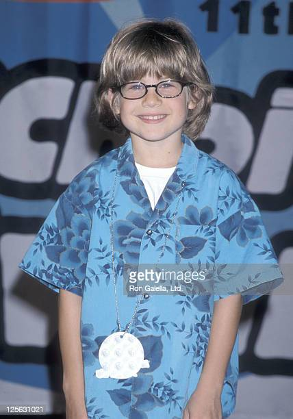 Actor Alex D Linz attends the 11th Annual Nickelodeon's Kids' Choice Awards on April 4 1998 at UCLA's Pauley Pavilion in Westwood California