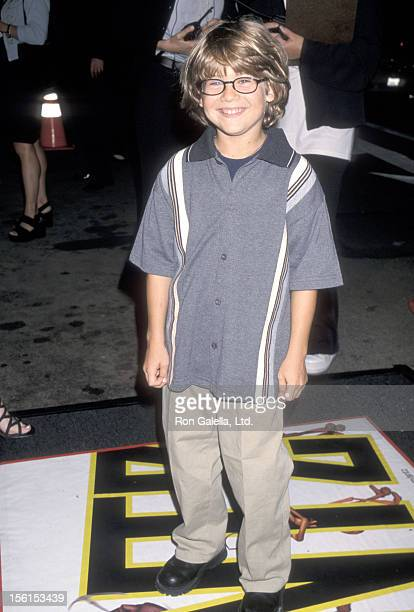 Actor Alex D Linz attends the 'Antz' Westwood Premiere on September 24 1998 at Mann National Theatre in Westwood California