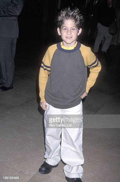 Actor Alex D Linz attends the Hollywood Women's Press Club's 61st Annual Golden Apple Awards on December 2 2001 at Beverly Hilton Hotel in Beverly...