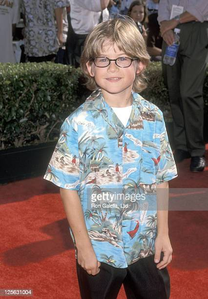 Actor Alex D Linz attends the 'Tarzan' Hollywood Premiere on June 12 1999 at El Capitan Theatre in Hollywood California