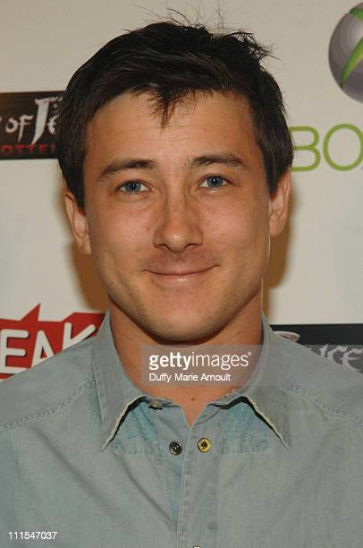 Actor Alex Frost arrives at the Launch of the 'Prince of Persia' video game presented by Ubisoft and Break Media at Sky Bar on May 25 2010 in West...