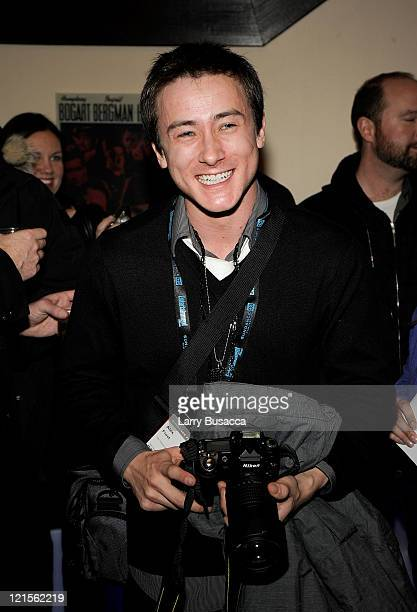 Actor Alex Frost attends 'The Vicious Kind' Party at the Hollywood Life House on January 17 2009 in Park City Utah