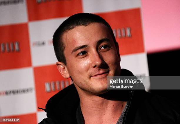 Actor Alex Frost attends 'The Wheeler Boys' After Party during the 2010 Los Angeles Film Festival at ZonePerfect livecreatelounge on June 25 2010 in...