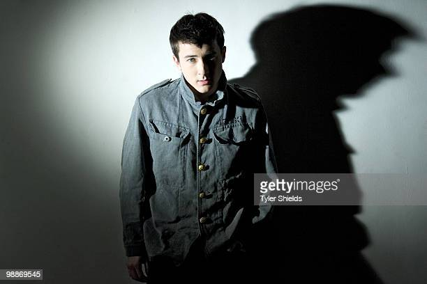 Actor Alex Frost poses at a portrait session for Self Assignment in Los Angeles CA on February 11 2007