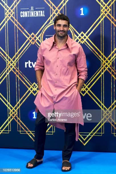 Actor Alex Garcia attends 'El Continental' photocall at Palacio de Congresos Europa during the FesTVal 2018 Day 1 on September 3 2018 in...