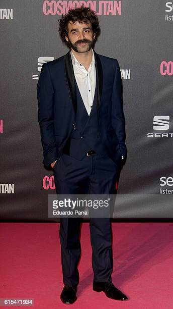 Actor Alex Garcia attends the 'Cosmopolitan Fun Fearless Female' awards 2016 at La Riviera Disco on October 18 2016 in Madrid Spain