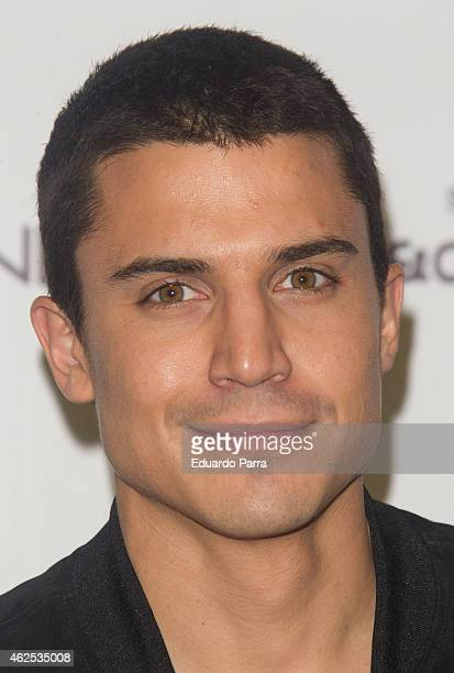 Actor Alex Gonzalez attends Hominem new collection presentation at Price circus on January 30 2015 in Madrid Spain