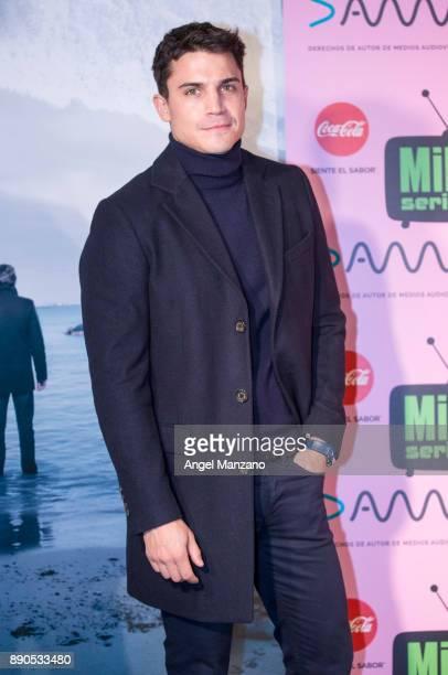 Actor Alex Gonzalez attends MIM series Vivir Sin Permiso premier at Cineteca of Matadero on December 11 2017 in Madrid Spain