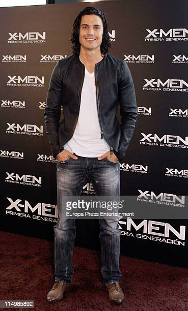 Actor Alex Gonzalez attends 'XMen First Class' Photocall at Hotel Me on May 31 2011 in Madrid Spain