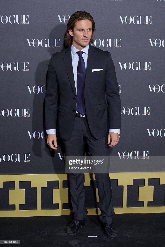 Actor Alex Hafner attends the 'Vogue Joyas' 2013 awards at the Stock Exchange building on November 18, 2014 in Madrid, Spain.