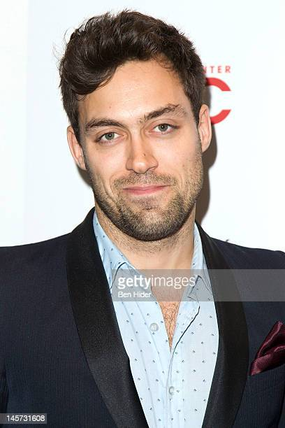 Actor Alex Hassell attends the Peace Love And Misunderstanding New York Screening at MOMA on June 4 2012 in New York City