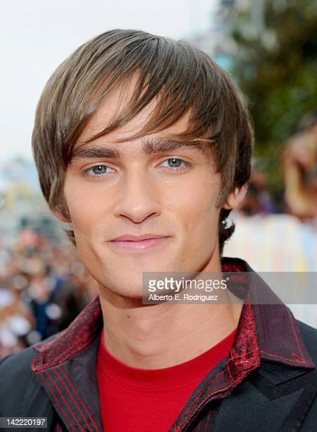 Actor Alex Heartman arrives at Nickelodeon's 25th Annual Kids' Choice Awards held at Galen Center on March 31 2012 in Los Angeles California