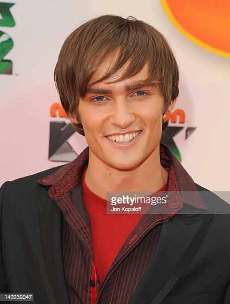 Actor Alex Heartman arrives at the 2012 Nickelodeon's Kids' Choice Awards held at the Galen Center on March 31 2012 in Los Angeles California