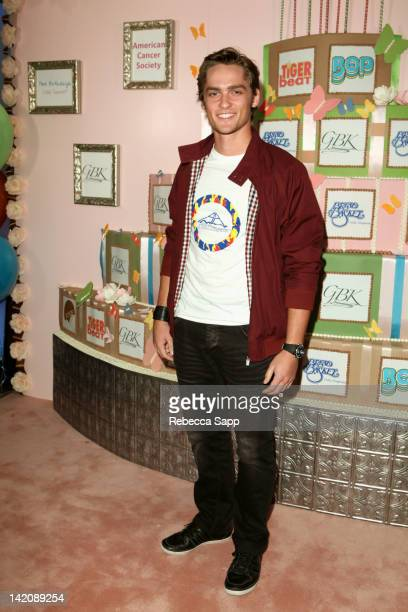 Actor Alex Heartman at GBK Bop And Tiger Beat's Kids' Choice Awards Gift Lounge at SLS Hotel on March 29 2012 in Beverly Hills California