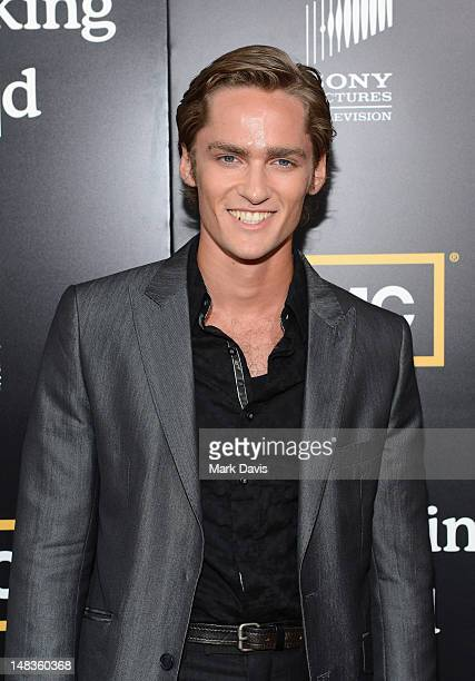 Actor Alex Heartman attends AMC's 'Breaking Bad' Season 5 Premiere during ComicCon International 2012 at Reading Cinemas Gaslamp on July 14 2012 in...