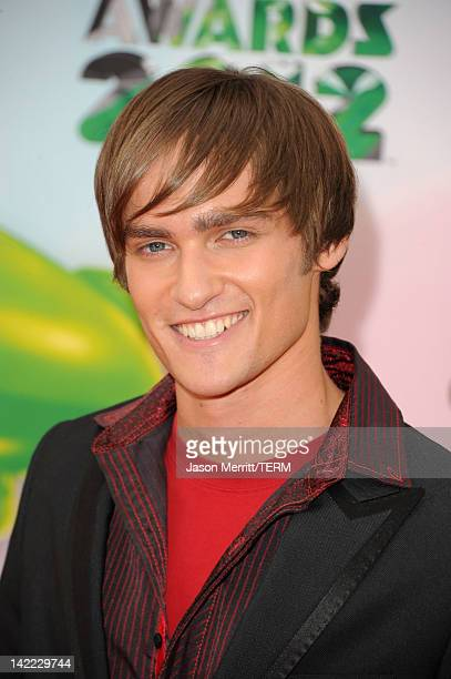 Actor Alex Heartman attends Nickelodeon's 25th Annual Kids' Choice Awards held at Galen Center on March 31 2012 in Los Angeles California