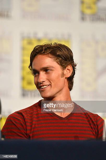 Actor Alex Heartman attends Power Rangers 20 Years and Beyond during ComicCon International 2012 held at the Hilton San Diego Bayfront Hotel on July...