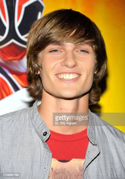 Actor Alex Heartman attends the AllNew 'Power Rangers Samurai' launch and special screening at the park at the Grove on February 7 2011 in Los...