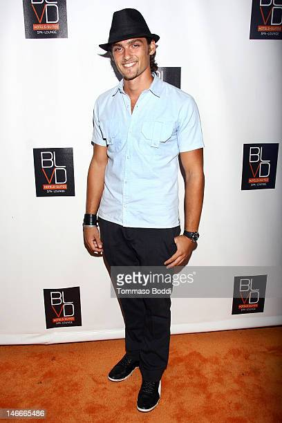 Actor Alex Heartman attends The BLVD Hotels 1 Year Anniversary Celebration held at The Blvd Hotel Spa on June 21 2012 in Studio City California
