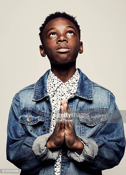 Actor Alex Hibbert poses for a portrait during the 54th New York Film Festival at Lincoln Center on October 2 2016 in New York City