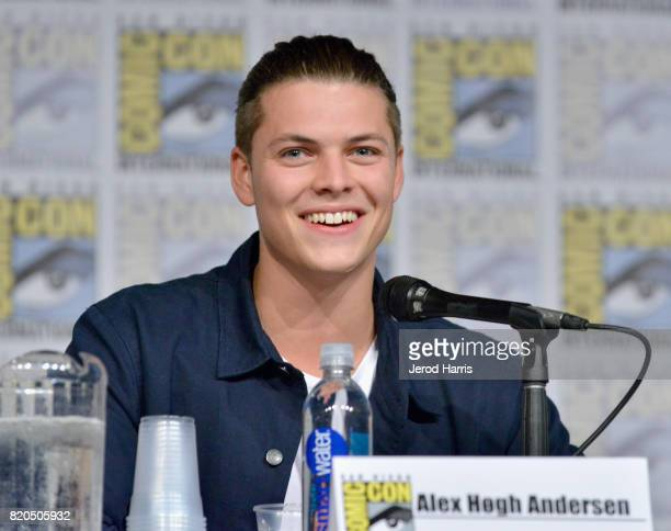 Actor Alex Hogh Andersen attends the 'Vikings' panel during San Diego ComicCon International 2017 at San Diego Convention Center on July 21 2017 in...