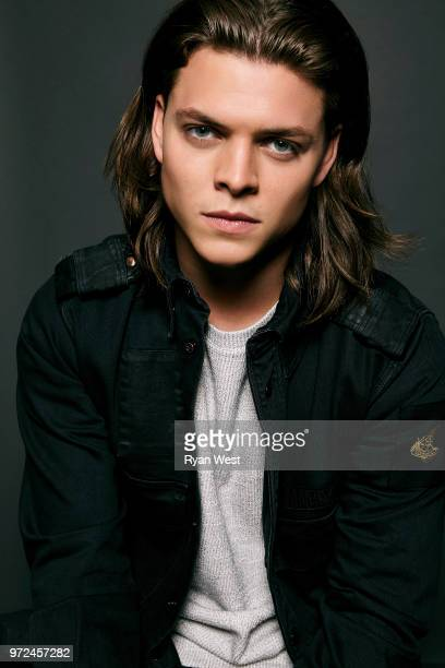 Actor Alex Hogh Andersen is photographed on August 10 2017 in Los Angeles California